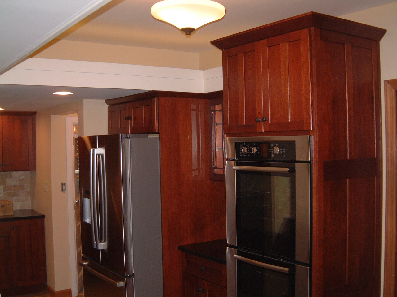 Kitchen Soffit Lighting Springfield Kitchen Project Complete Remodeling Designs Inc