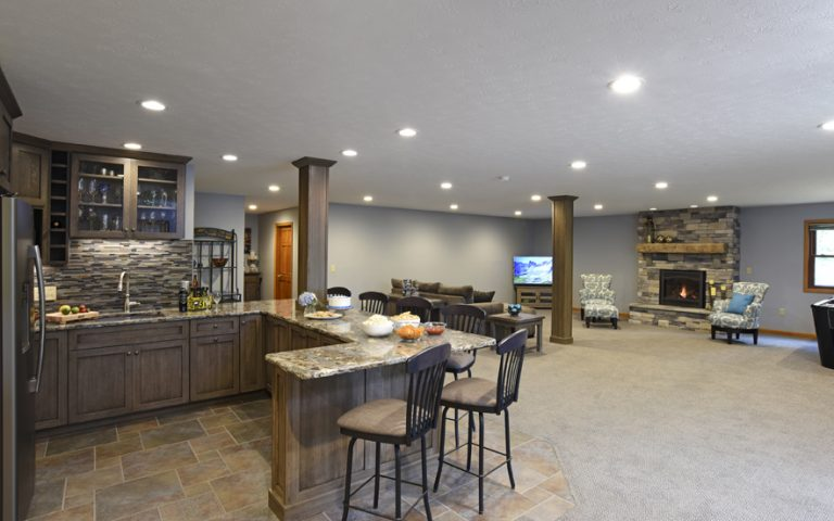 Basement Remodel Spring Valley